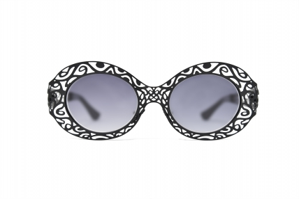 Gloria metal. Design spectacles made in Italy