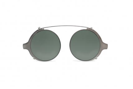 clip on - tondo. Design spectacles made in Italy
