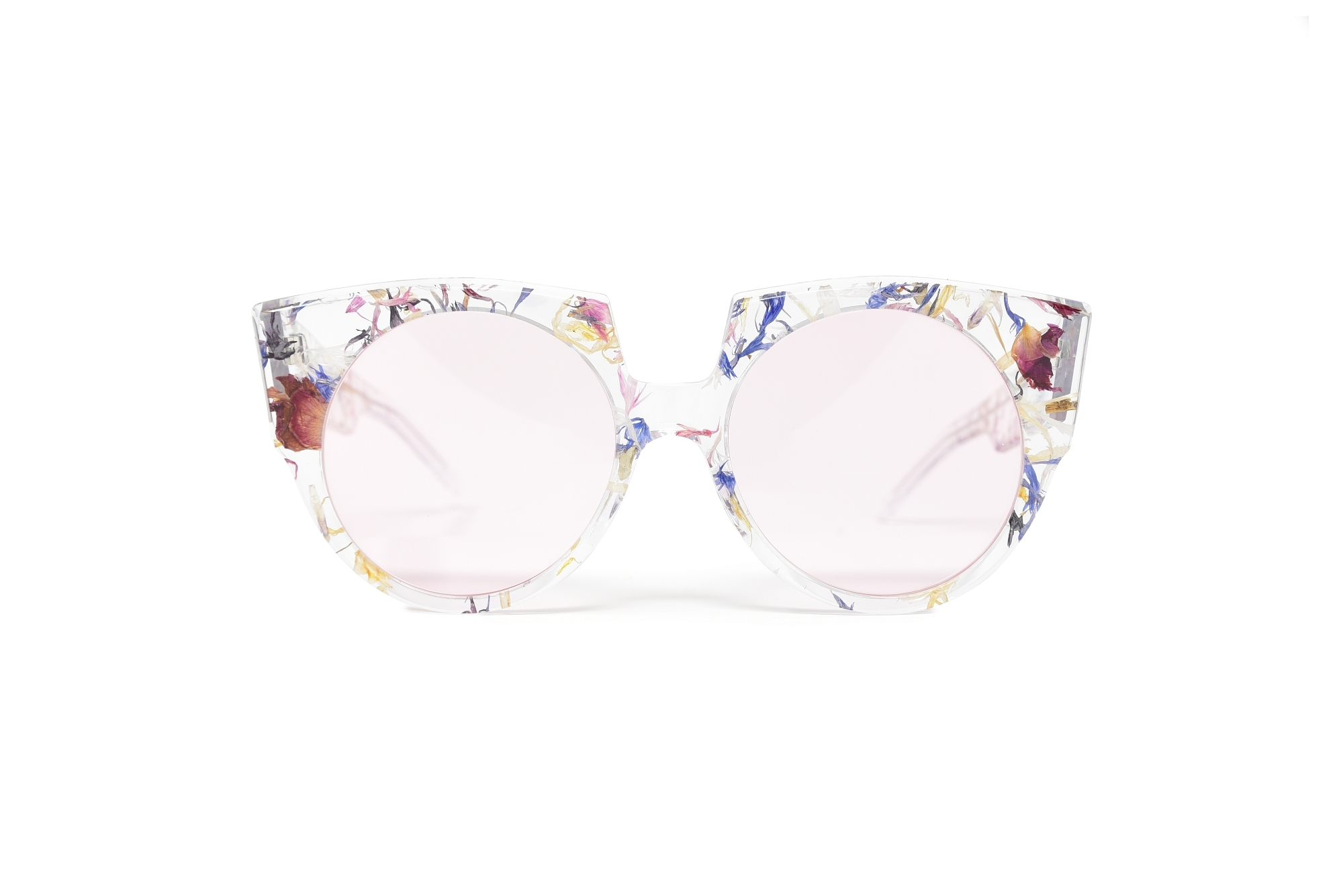 Occhiali CLEAR / DRIED FLOWERS - LENS: LIGHT PINK